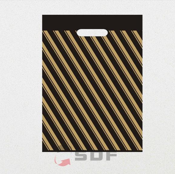 Diagonal Takviyeli Poşet 40x50